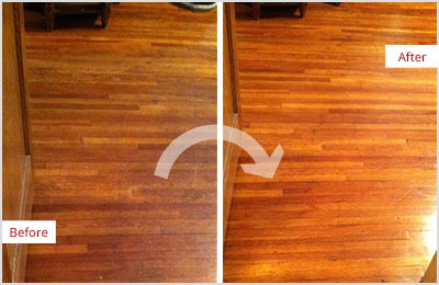 Residential Sand Free Wood Refinishing  Sir Grout New York