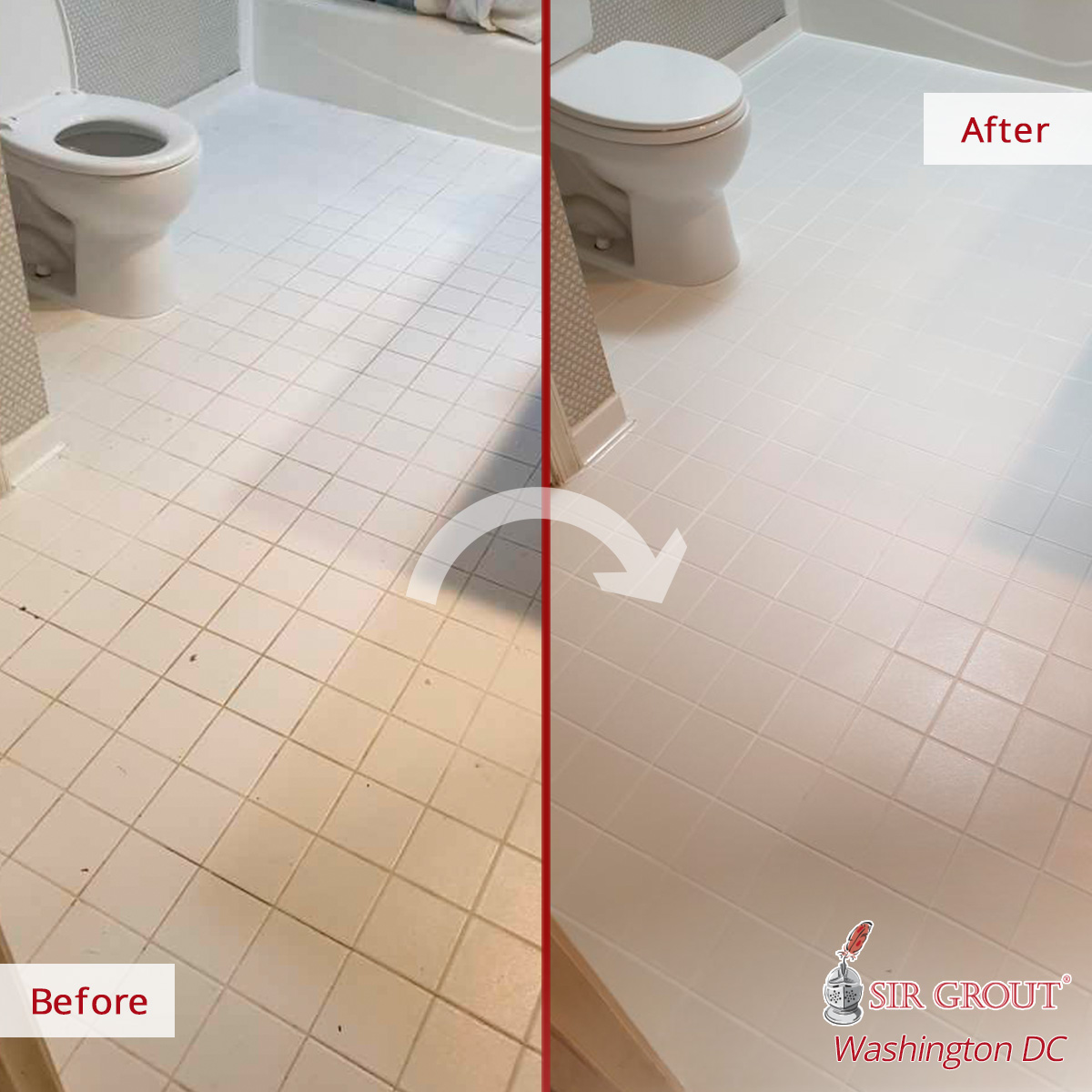 https www sirgroutwashingtondc com blog a professional tile cleaning in mclean va revamped this bathroom floor with a beautiful new look