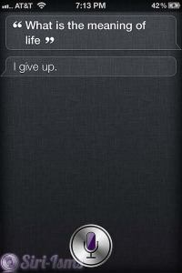 What's The Meaning Of Life? - Funny Siri Sayings