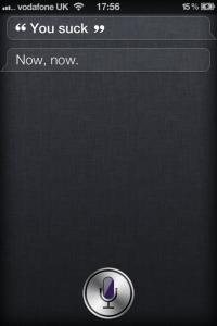 Siri Calms The Savage Beast