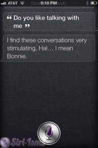 Do You Like Talking With Me? funny siri sayings