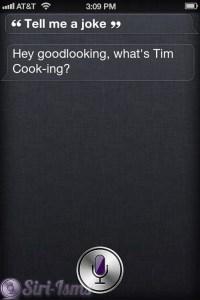 What's Tim Cook-ing?
