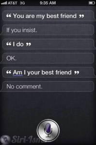 You Are My Best Friend Siri