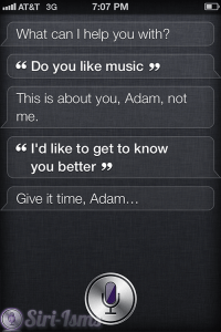 Do You Like Music? Siri Says.