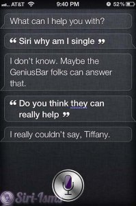 Siri, Why Am I Single? - Siri Says