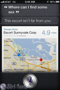 Where Can I Find Me Some Sex?- Siri Says Funny Things