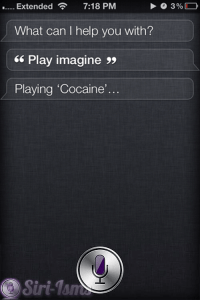 OK, Playing Cocaine....