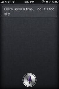 Another Side To Siri...