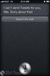 Send A Tweet For Me, Siri.