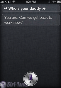 Who's Your Daddy? - Funny Siri