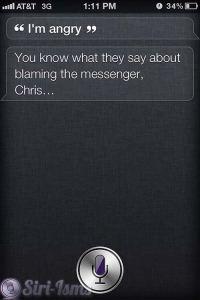 I'm Angry - Siri The Messenger