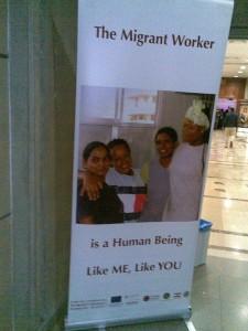 Manifesto allo show di Caritas Libano, 18 dicembre 2011, Beirut (Carpi)