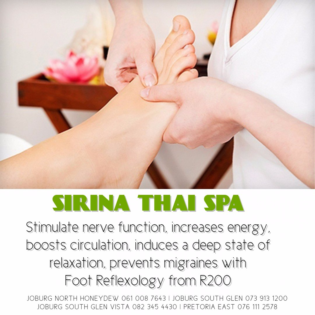 Sirina Thai Spa Feet Reflexology