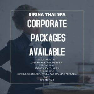 Corporate Packages at Sirina Thai Spa