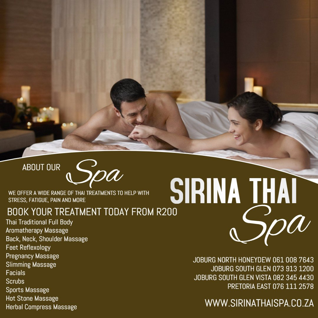 Sirina Thai Spa Services and Treatments