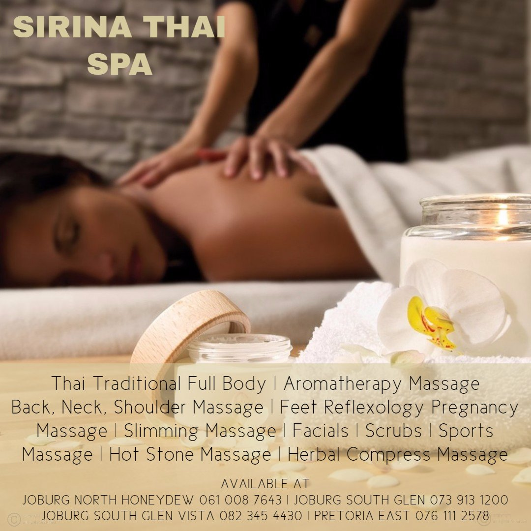 SIRINA THAI SPA TREATMENTS