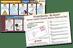 DRsABC & Postal Bomb Posters