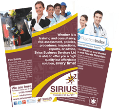 Sirius Training Leaflet