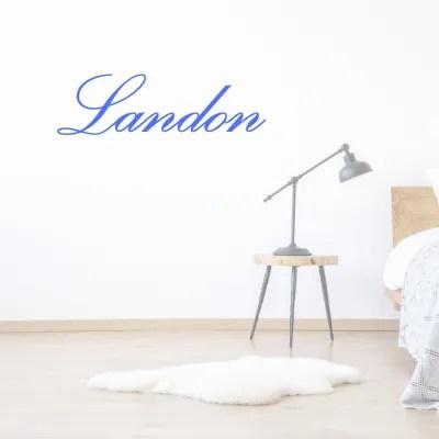 custom quote name-landon