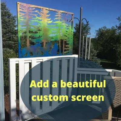 panel wolf screen