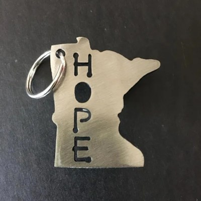 mn keychain mn made hope