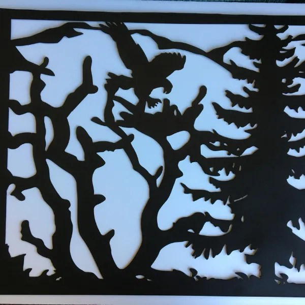 custom quote window panel eagle