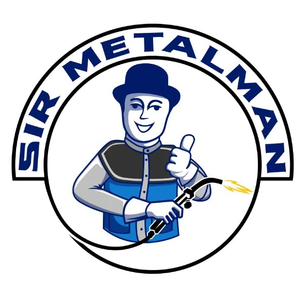 sir metalman logo custom metal designs