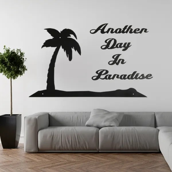 word sign paradise