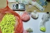 Zaplenjeni amfetamin i ekstazi