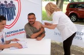 Potpredsednik Vlade i ministar Nedimović revakcinsan na Gradskoj plaži