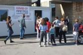 Grad i Dom zdravlja postavili dodatnu ambulantu ispred Školskog dispanzera