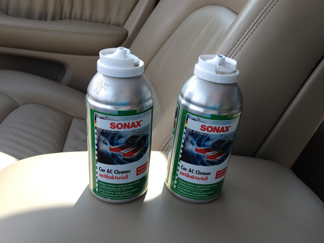 Vård Del 23 : Rengöra din AirCondition i bilen med Sonax AC Cleaner