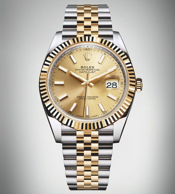 Dagens Klocka : Rolex Datejust 41 Jubilee 2016 / Rolex Turn-O-Graph