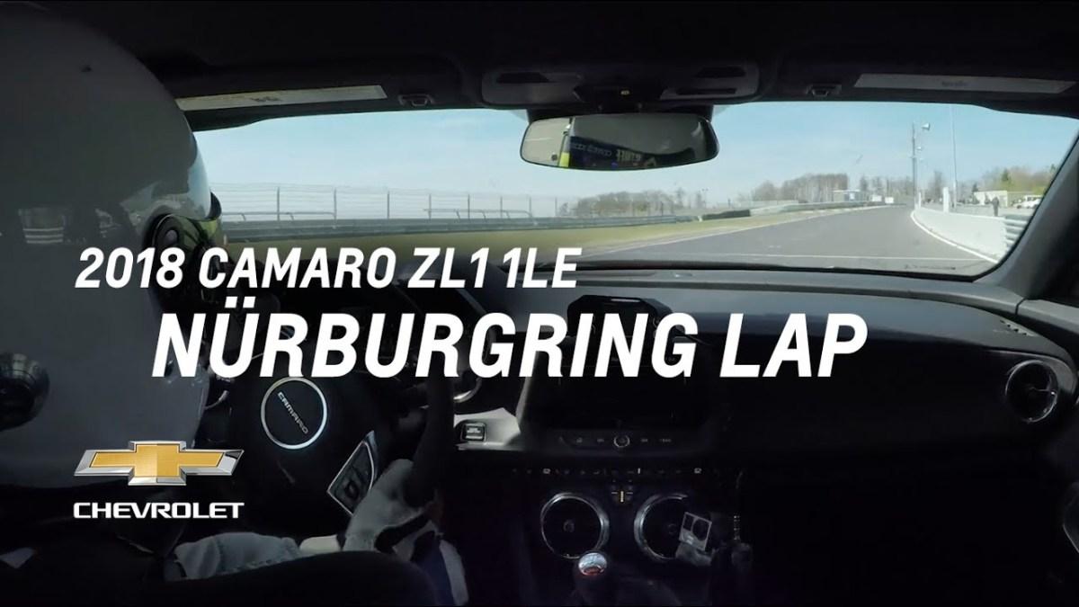 Chevrolet Camaro ZL1 1LE sätter en 7:16 tid på Nurburgring!