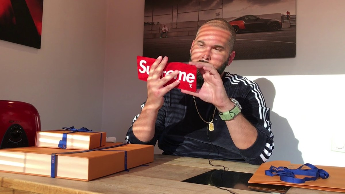 Unboxing : SUPREME x LOUIS VUITTON