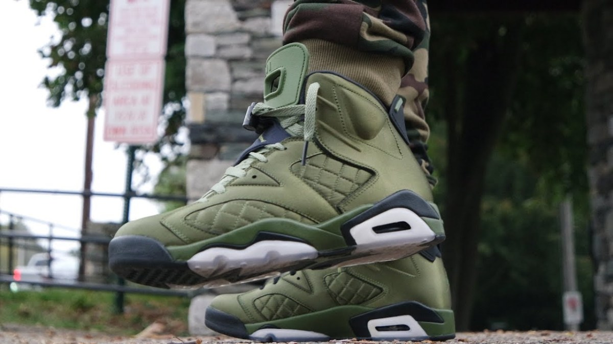 "AIR JORDAN 6 PINNACLE ""FLIGHT JACKET"" REVIEW & ON FEET!"