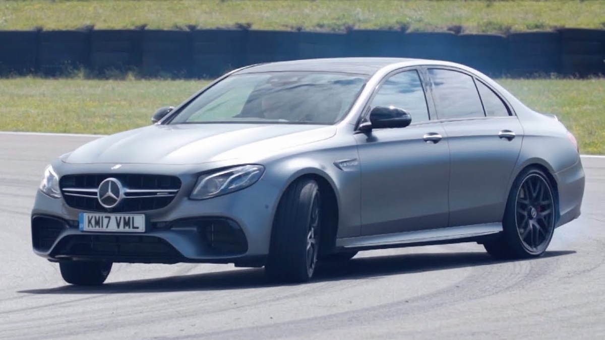 Mercedes-AMG E63 S - Chris Harris Drives - Top Gear