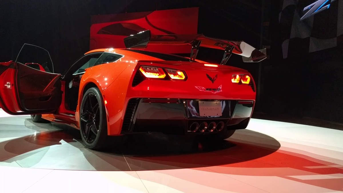 Officiell : 2019 Chevrolet Corvette ZR1
