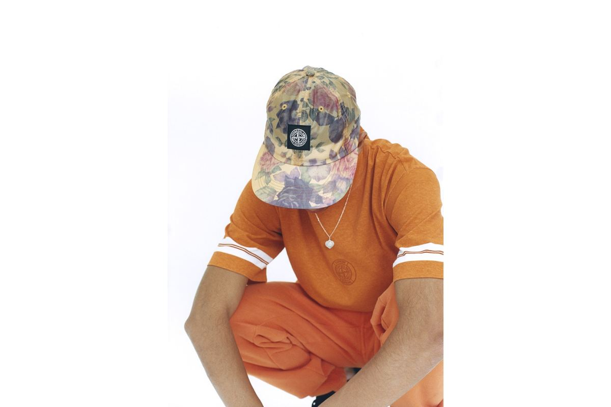 Review : Supreme x Stone Island® Orange Sweatpants from Fall 2017 Collection