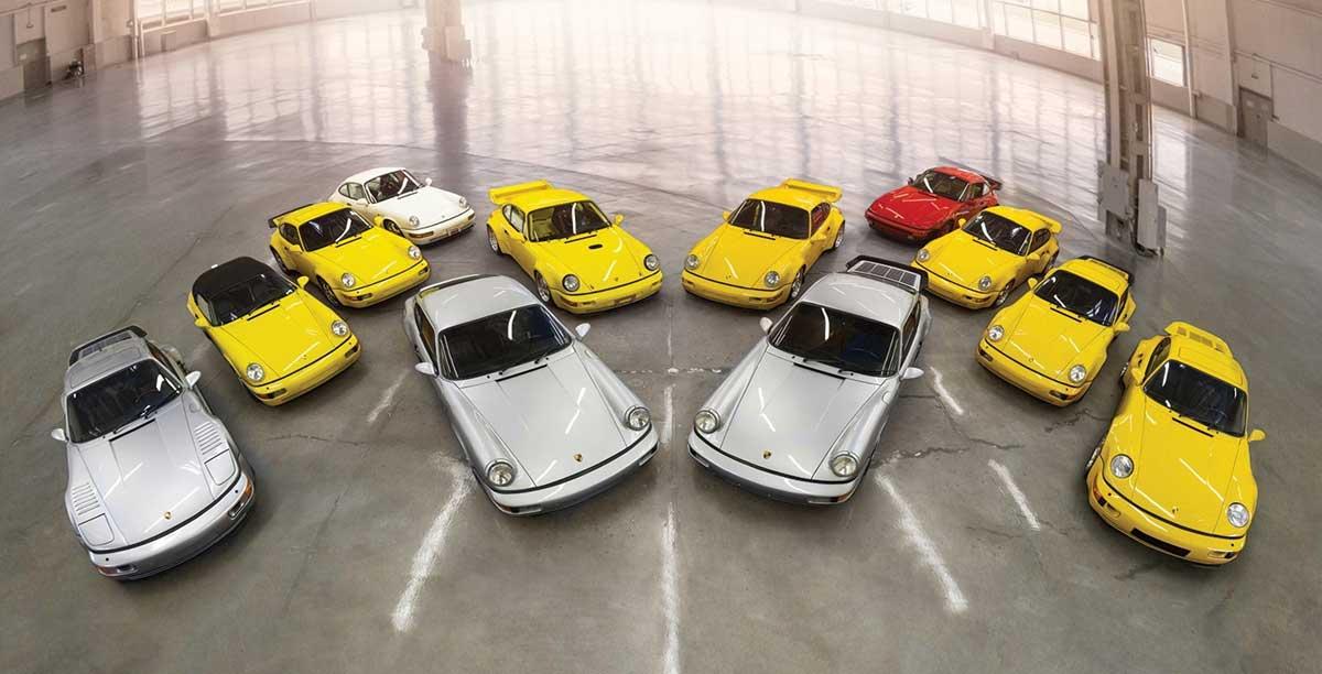 Till Salu : Den Ultimata Porsche 964  Samlingen