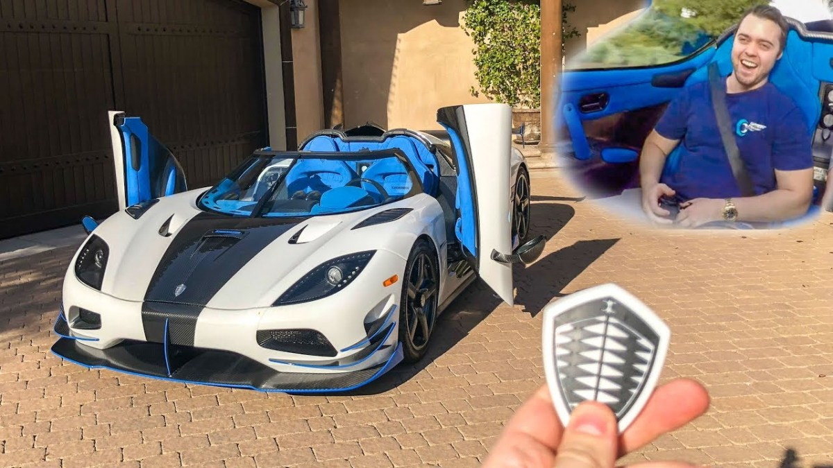 Vehicle Virgins : I GOT A RIDE IN MY $3 MILLION DREAM CAR!! *Koenigsegg Agera RS*