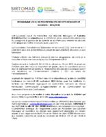 note explicative PLPDMA – SIRTOMAD
