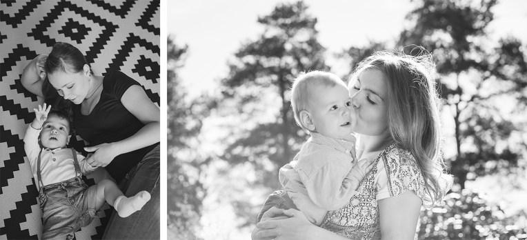 Äiti-lapsikuvaus