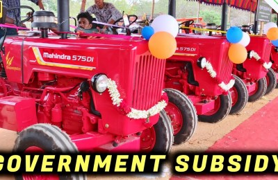 government subsidy for tractor in tamil nadu