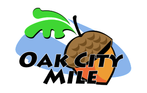 Oak City Mile Logo Transparent