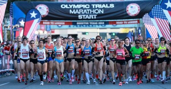 The start of the 2012 Women's Olympic Trials Marathon(Photo: Runner's World)