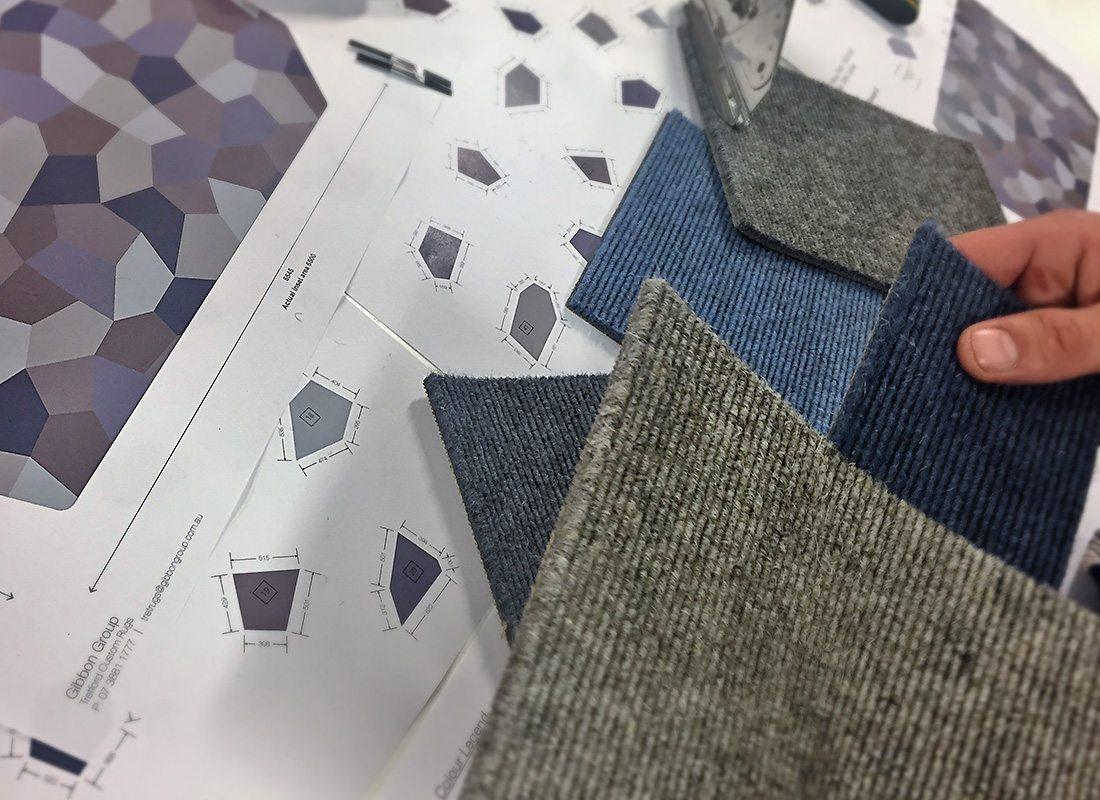 Eco Friendly Flooring Tiles For Custom High Design Rugs