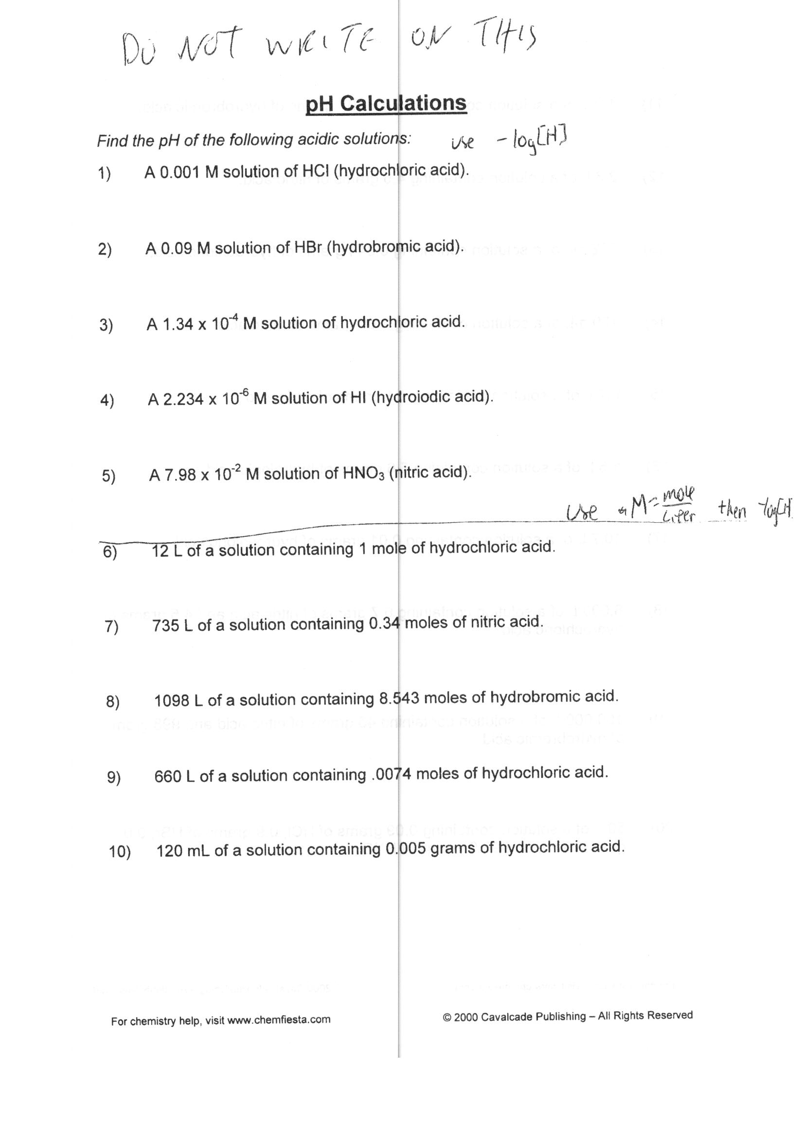 Worksheet Mole Calculations Worksheet Grass Fedjp Worksheet Study Site