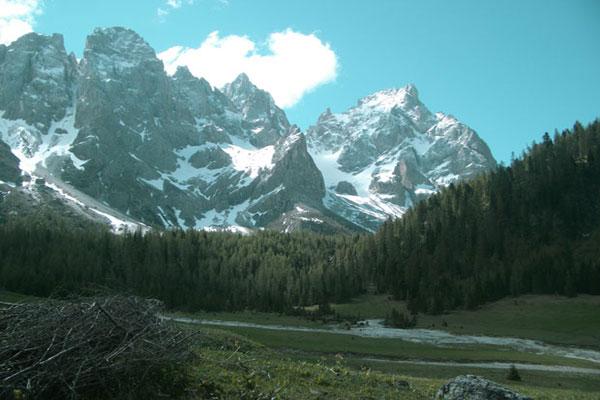 Panorama della Val di Fiemme (foto: M. Borghetti)