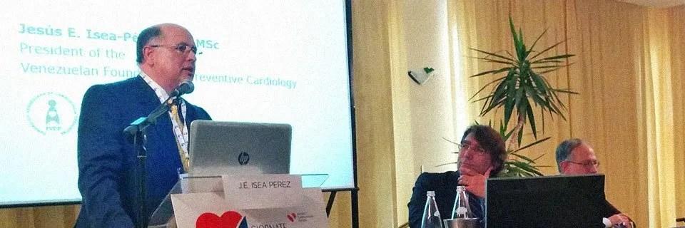 Lettura del Prof. Jesus Isea Perez, Presidente della Società Venezuelana di Cardiologia Preventiva - Giornate Adriatiche di Cardiologia 2014